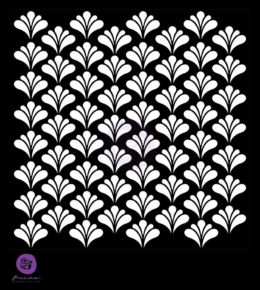 Prima 6x6 Stencil - Florets
