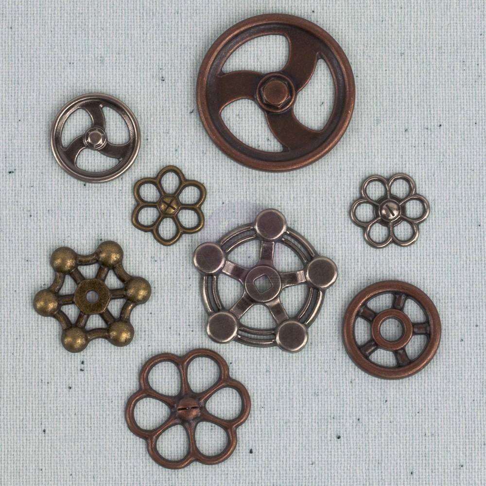 Prima Junkyard Findings - Faucet Wheels