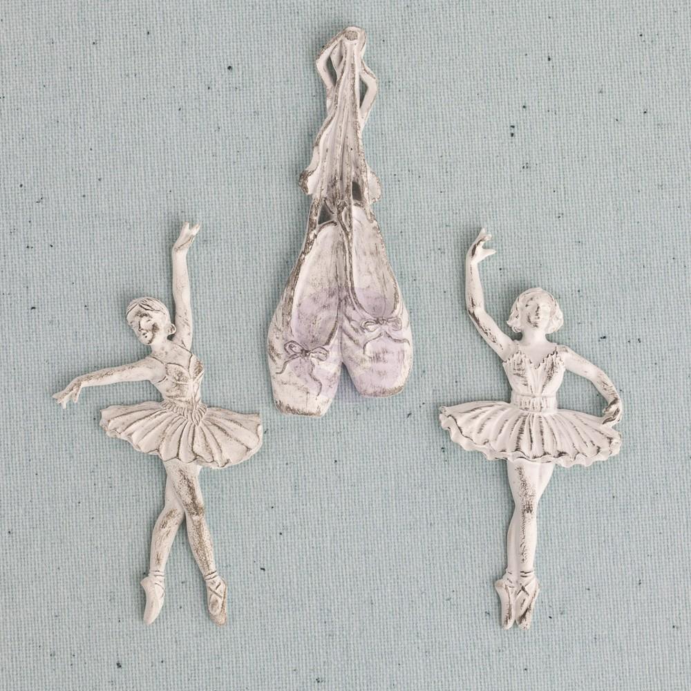 Prima Junkyard Findings Resin Embellishments - Ballet