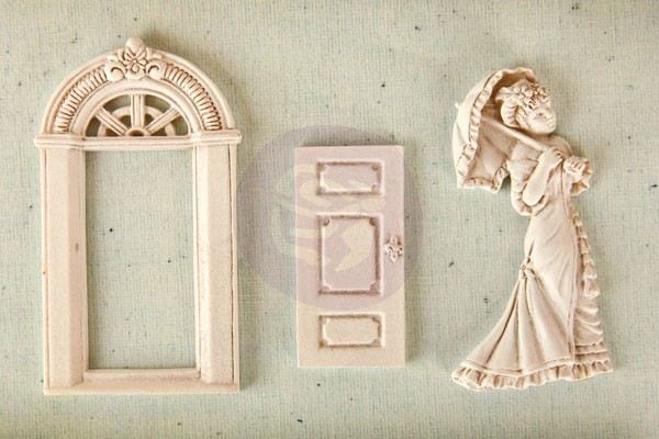 Prima Shabby Chic Resin Treasures - Parlor