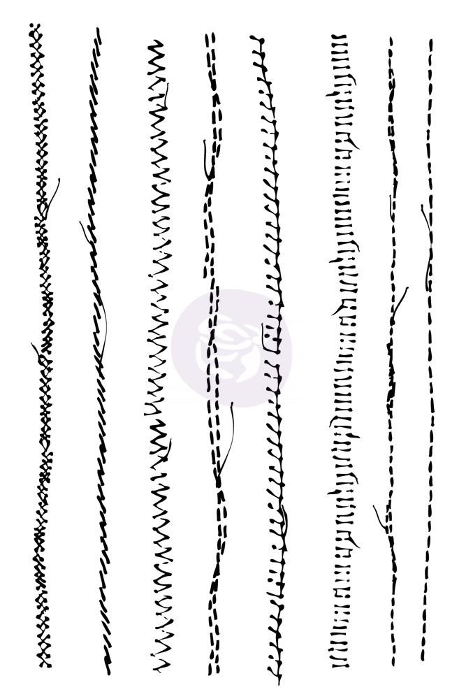Prima Stitch Stamps - Lines