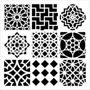 Mini Moroccan Tiles