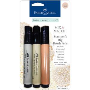 Stampers Big Brush Pens - Subtle Tones