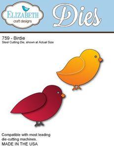 Elizabeth Crafts Birdie Die