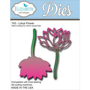 Elizabeth Craft Dies Lotus Flower