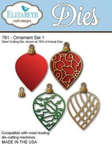 Elizabeth Craft Ornaments Set 1