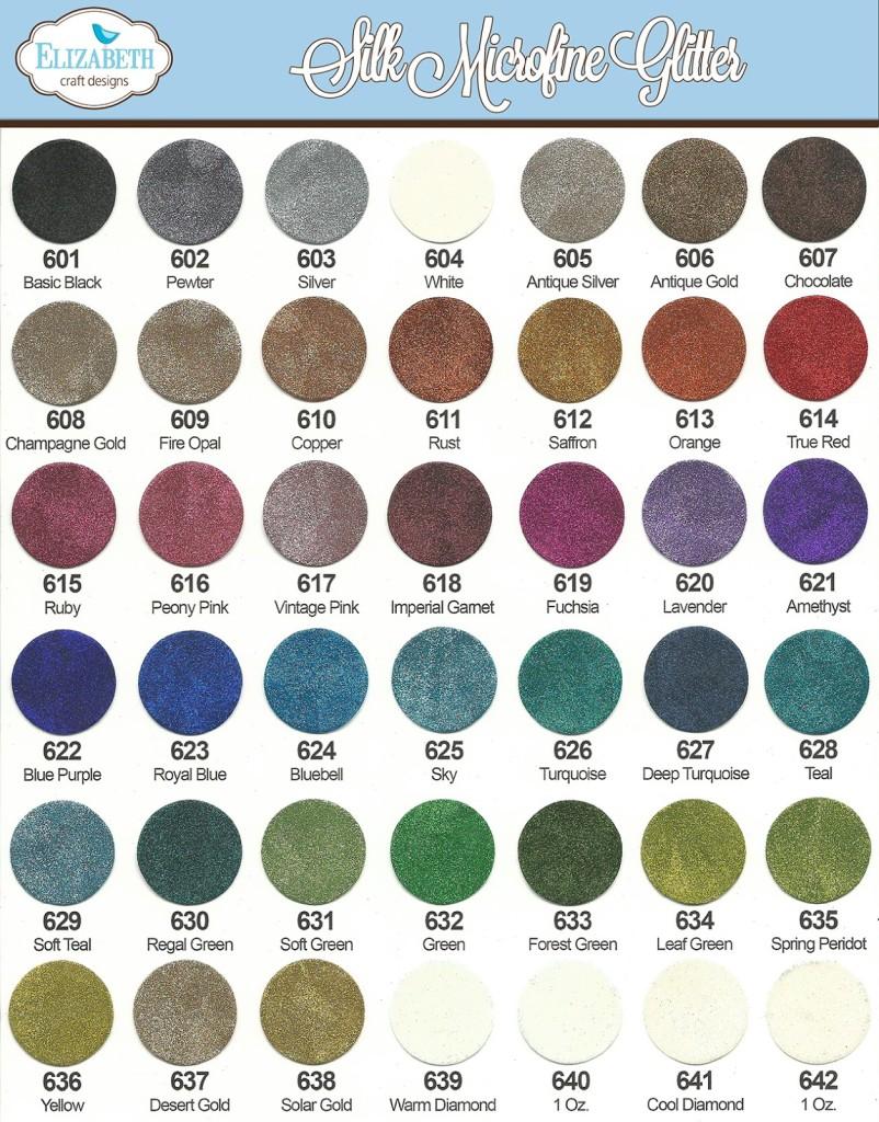 Silk Microfine Glitters