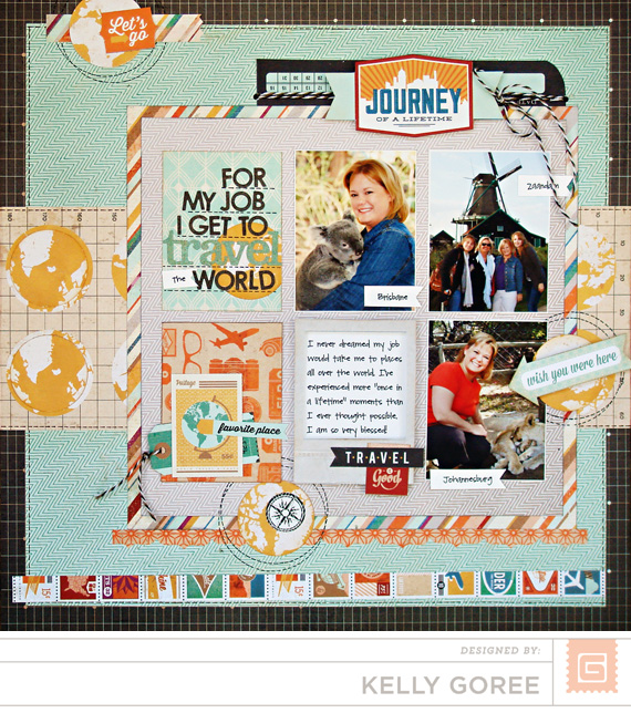 Carte Postale Sample Layout