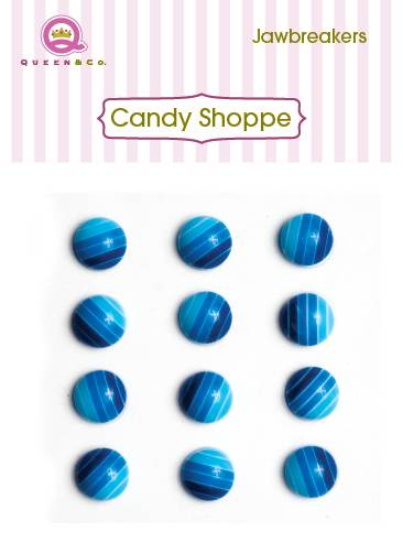 Queen & Co Blue Jawbreakers