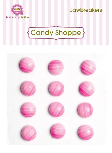 Queen & Co Jaw Breakers Pink