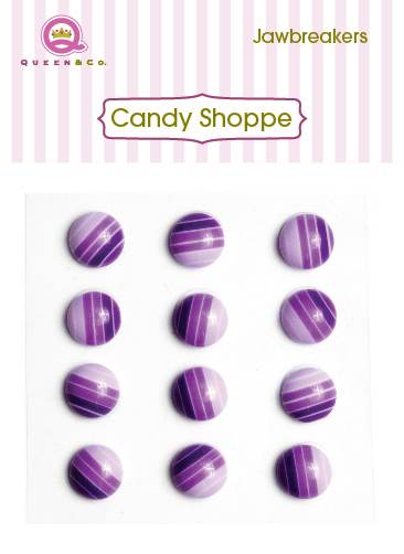 Queen & Co Jaw Breakers Purple