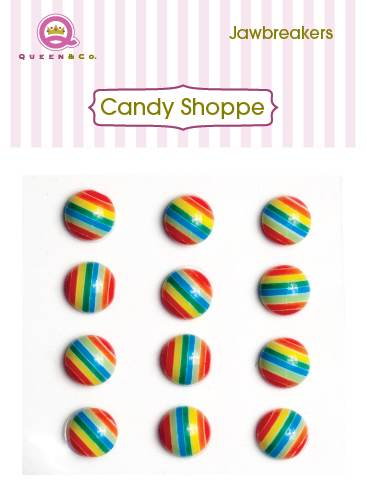Queen & Co Jaw Breakers Rainbow