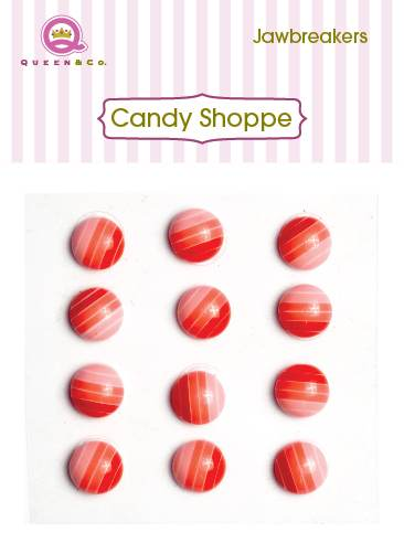 Queen & Co Jaw Breakers Red