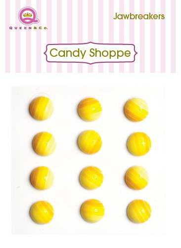Queen & Co Jaw Breakers Yellow