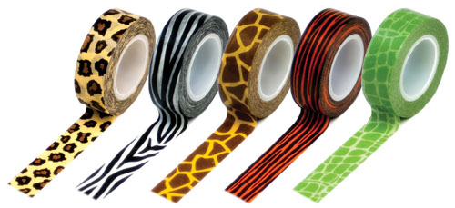 Queen & Co Animal Print Washi Tape
