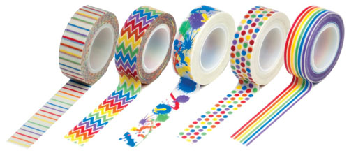 Queen & Co Brights Washi Tape
