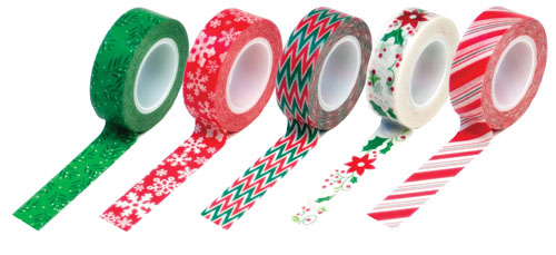 Queen & Co Christmas Washi Tape