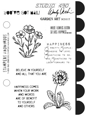 Wendy Vecchi Garden Art Stamp Set