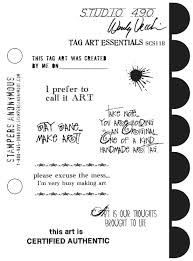 Wendy Vecchi Tag Art Essentials