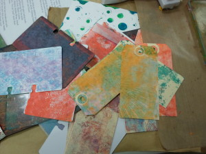 GELLI PLATE PRINTING 101 with Michelle