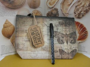 Tim Holtz Pencil Pouch & Fude Ball Pen