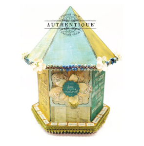 """Natural"" Bird House by Authentique Paper Design Team MemberJohn Petersen"