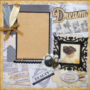 Scrapbook Layout Classes with Bea