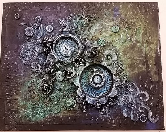 Altered Canvas - Anna Dabrowska Style