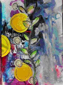 Dina Wakley - Conquering Color